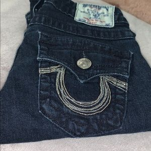 True Religion Jeans With Jeweled Back Pockets